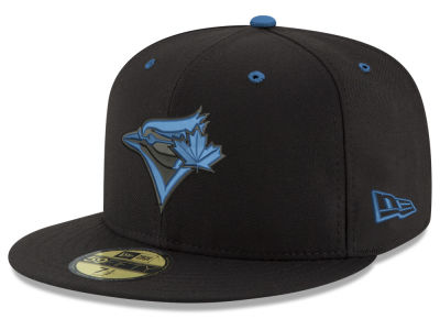 Toronto Blue Jays New Era MLB Black Series 59FIFTY Cap