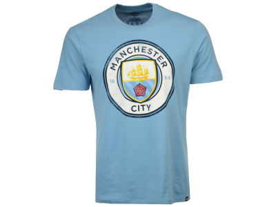 Manchester City '47 Men's Club Team Wordmark Splitter T-Shirt
