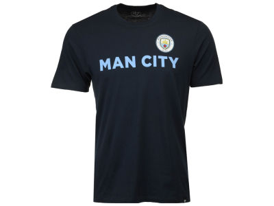 Manchester City Men's Club Team Logo Splitter T-Shirt