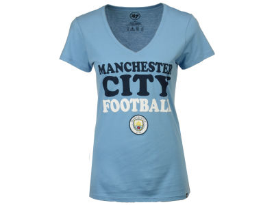 Manchester City Women's Club Team Wordmark T-Shirt