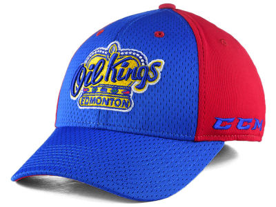 Edmonton Oil Kings Reebok WHL CCM Player Flex Cap