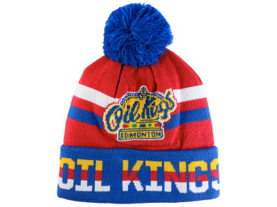 Edmonton Oil Kings CCM WHL Cuffed Knit Pom