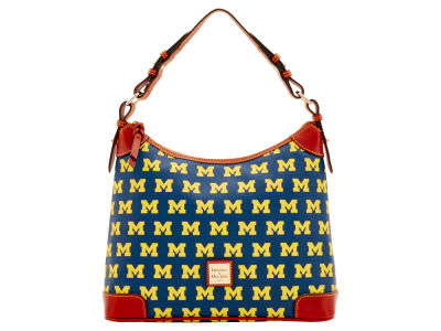 Michigan Wolverines Dooney & Bourke Hobo Bag