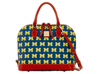 Michigan Wolverines Dooney & Bourke Zip Zip Satchel