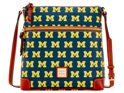 Michigan Wolverines Dooney & Bourke Crossbody Purse