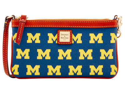 Michigan Wolverines Dooney & Bourke Large Wristlet