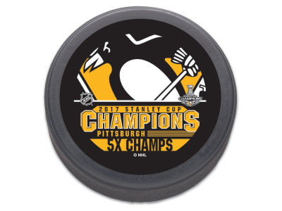 Pittsburgh Penguins Flat Hockey Puck - Event