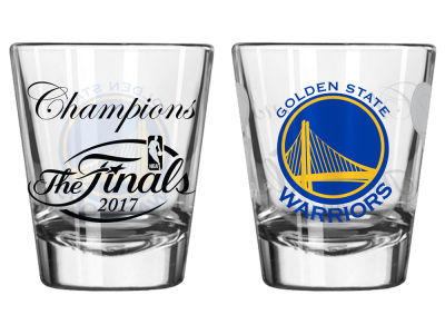 Golden State Warriors Satin Etch Shot Glass - EVENT