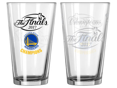 Golden State Warriors Satin Etch Pint-Event