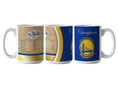 Golden State Warriors 15 oz Summary Event Coffee Mug