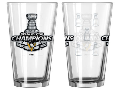 Pittsburgh Penguins Satin Etch Pint-Event