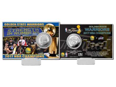Golden State Warriors Coin Card-EVENT
