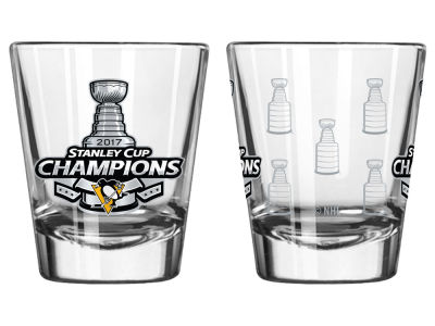Pittsburgh Penguins Satin Etch Shot Glass - EVENT