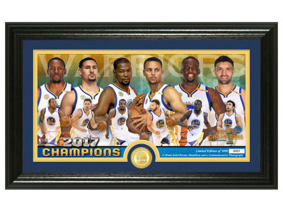 "Golden State Warriors ""Team Force"" Pano Photo Mint"