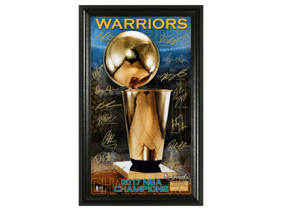 Golden State Warriors Photo Mint - Signature Trophy - Event