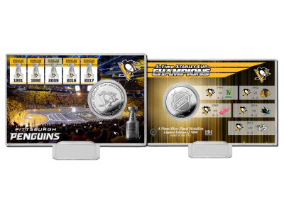 Pittsburgh Penguins Coin Card-EVENT