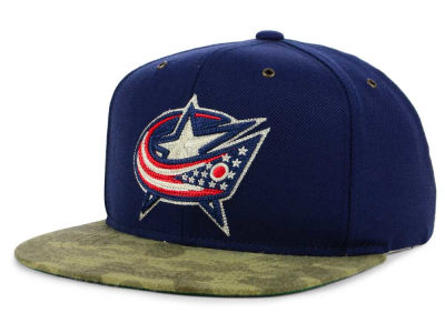 Columbus Blue Jackets adidas NHL Fashion Camo Snapback Cap