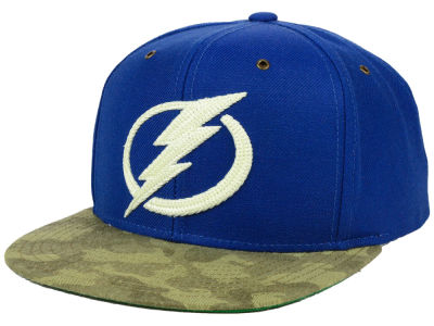 Tampa Bay Lightning adidas NHL Fashion Camo Snapback Cap