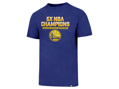 Golden State Warriors '47 2017 NBA Men's Multi Champion T-Shirt