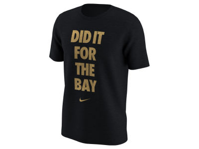 Golden State Warriors NBA Men's Did It For The Bay T-Shirt