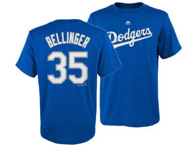Los Angeles Dodgers Cody Bellinger Majestic MLB Youth Official Player T-Shirt