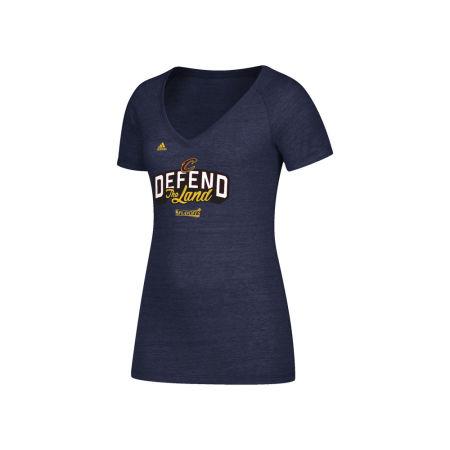Cleveland Cavaliers NBA Women's Defend The Land T-Shirt