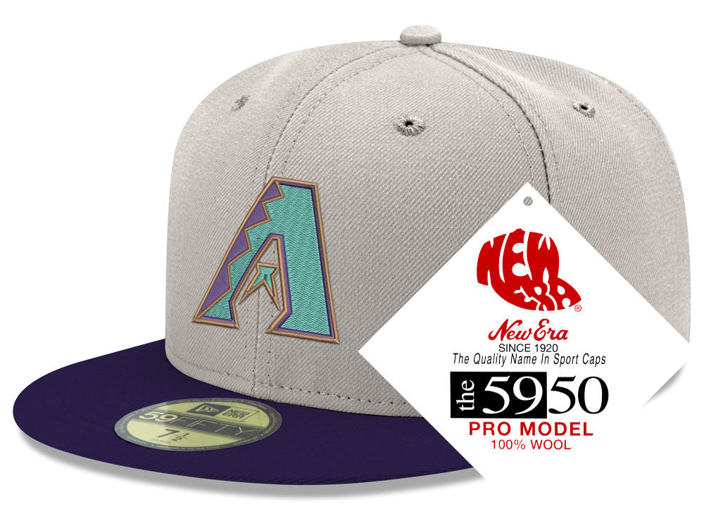 f03a8e9850b Arizona Diamondbacks New Era MLB Retro Classic 59FIFTY Cap