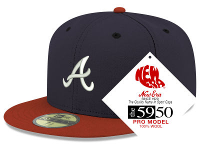 Atlanta Braves New Era MLB Retro Classic 59FIFTY Cap