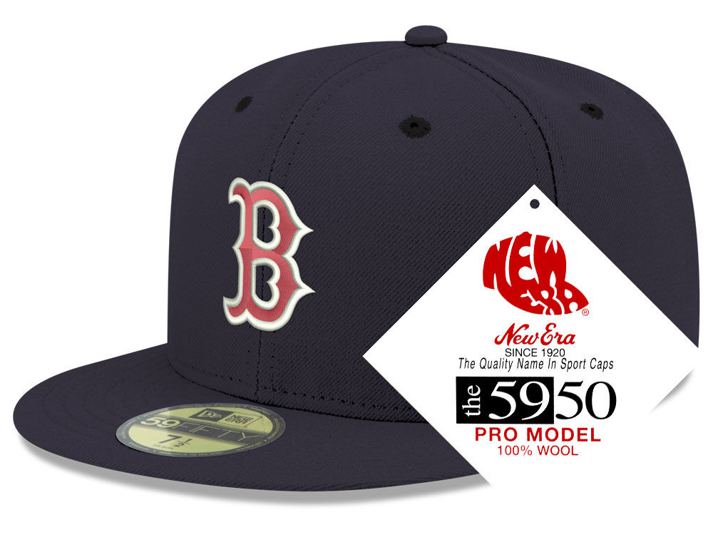 Boston Red Sox New Era MLB Retro Classic 59FIFTY Cap  56a85246f2d5