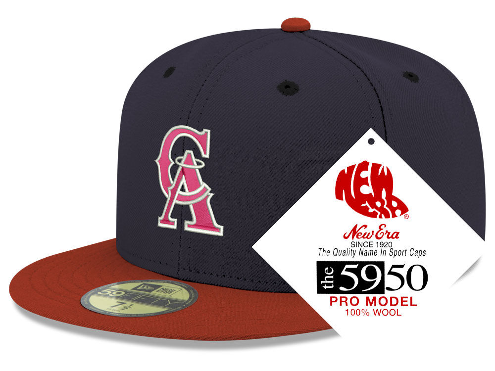 new style f2197 656f8 ... discount code for los angeles angels new era mlb retro classic 59fifty  cap 5f5aa a0dc3