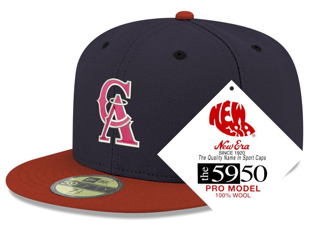 the latest 95b29 43d39 discount code for los angeles angels new era mlb retro classic 59fifty cap  d668f 8d791