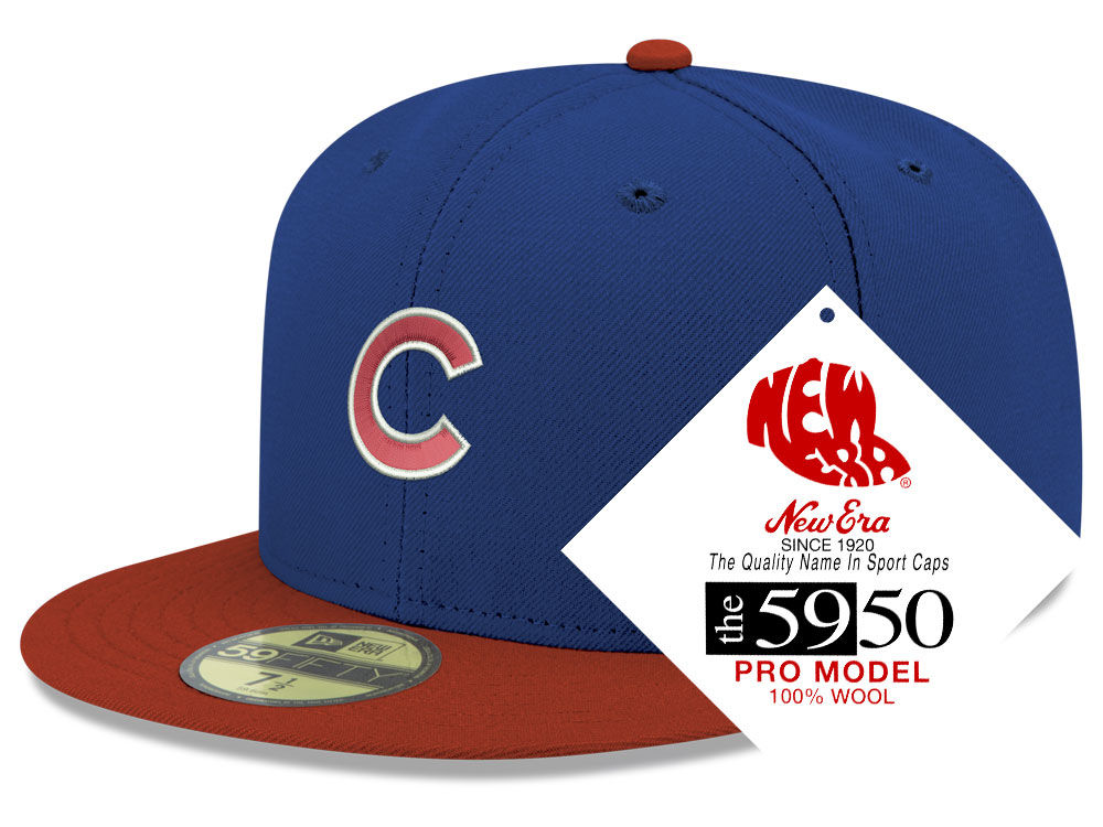 Chicago Cubs New Era MLB Retro Classic 59FIFTY Cap  044d9bb8083