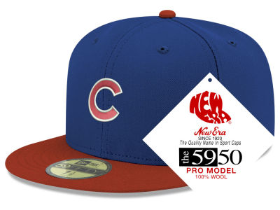 Chicago Cubs New Era MLB Retro Classic 59FIFTY Cap