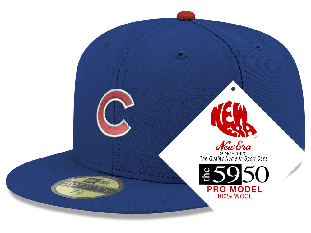 Chicago Cubs New Era MLB Retro Classic 59FIFTY Cap  a12a00ada0c