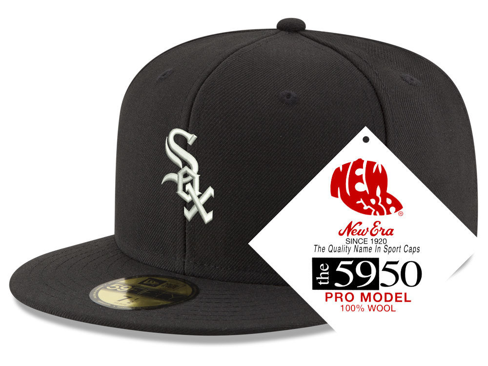 Chicago White Sox New Era MLB Retro Classic 59FIFTY Cap  ab50f74f9d3