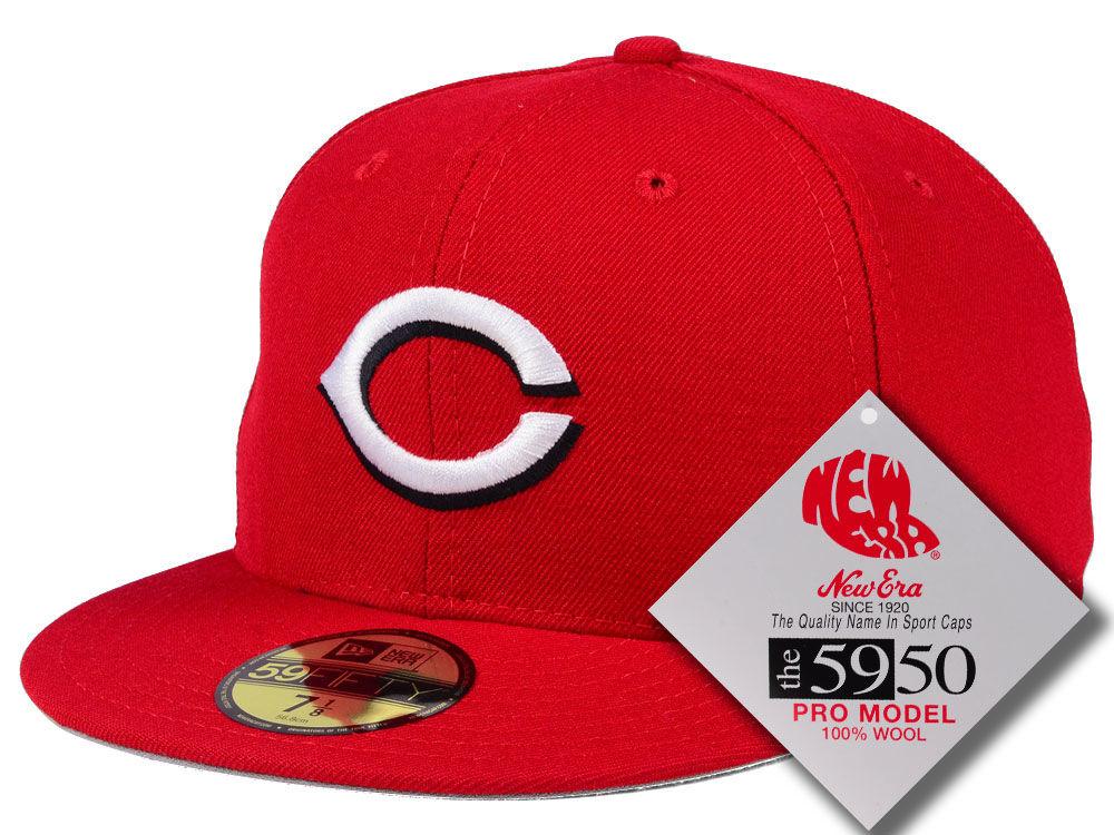 5588761a0e9 Cincinnati Reds New Era MLB Retro Classic 59FIFTY Cap