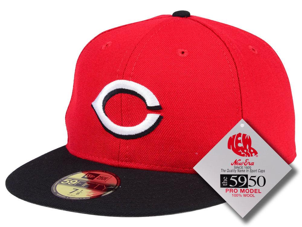 wholesale dealer dc480 584c8 shopping cincinnati reds new era mlb retro classic 59fifty cap 4ac01 011e4