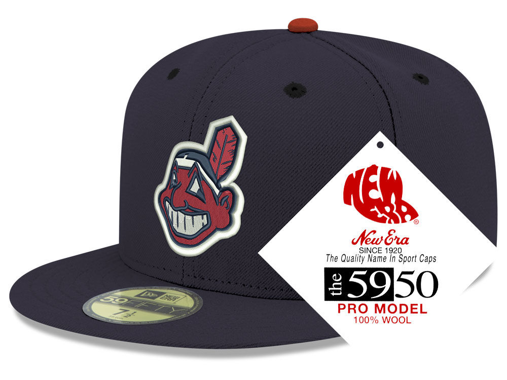 Cleveland Indians New Era MLB Retro Classic 59FIFTY Cap  d8284493fe1d