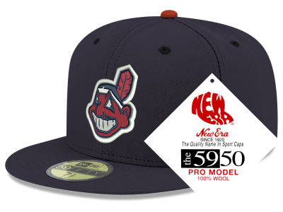 Cleveland Indians New Era MLB Retro Classic 59FIFTY Cap ac7dad7a9128