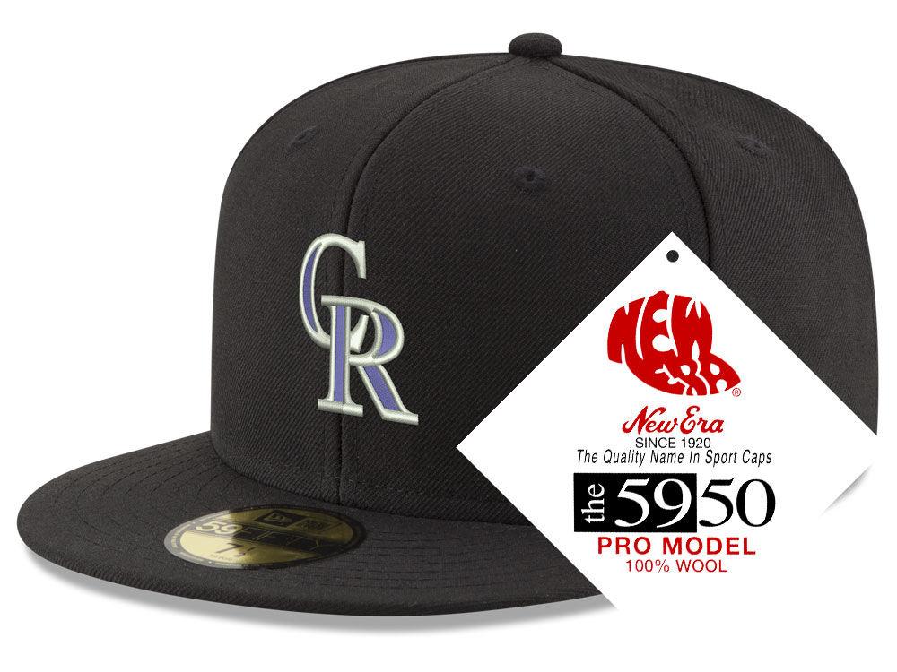 Colorado Rockies New Era MLB Retro Classic 59FIFTY Cap  22969e514d1