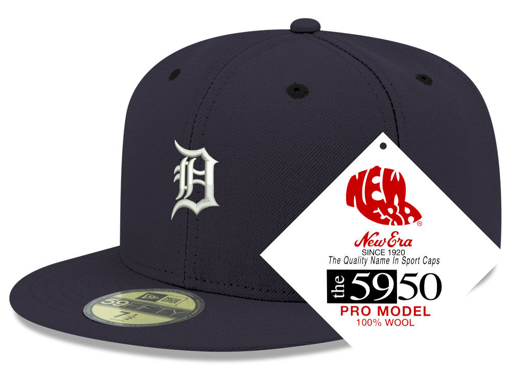 Detroit Tigers New Era MLB Retro Classic 59FIFTY Cap  85c80a18e