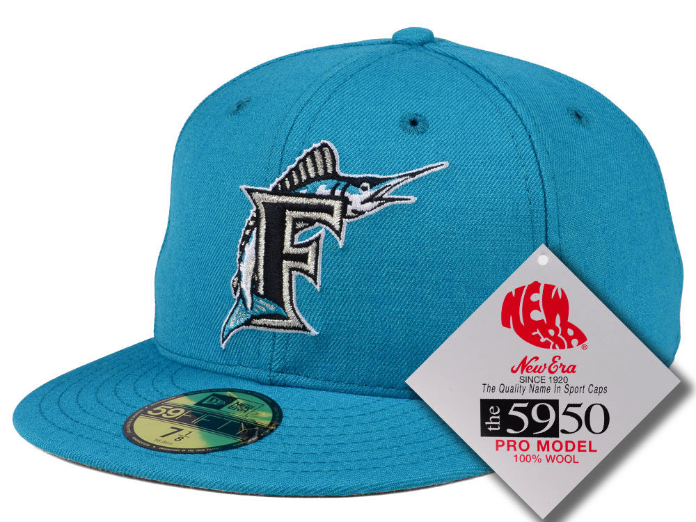 19ff72b352a Florida Marlins New Era MLB Retro Classic 59FIFTY Cap