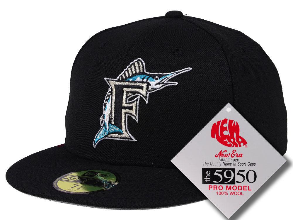 Florida Marlins New Era MLB Retro Classic 59FIFTY Cap  333dd6b7474c