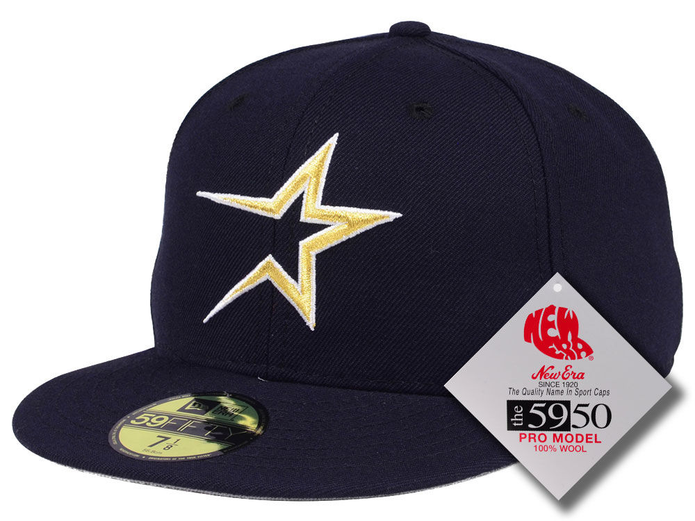 56d770a29d5 Houston Astros New Era MLB Retro Classic 59FIFTY Cap