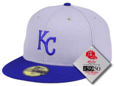 Kansas City Royals New Era MLB Retro Classic 59FIFTY Cap