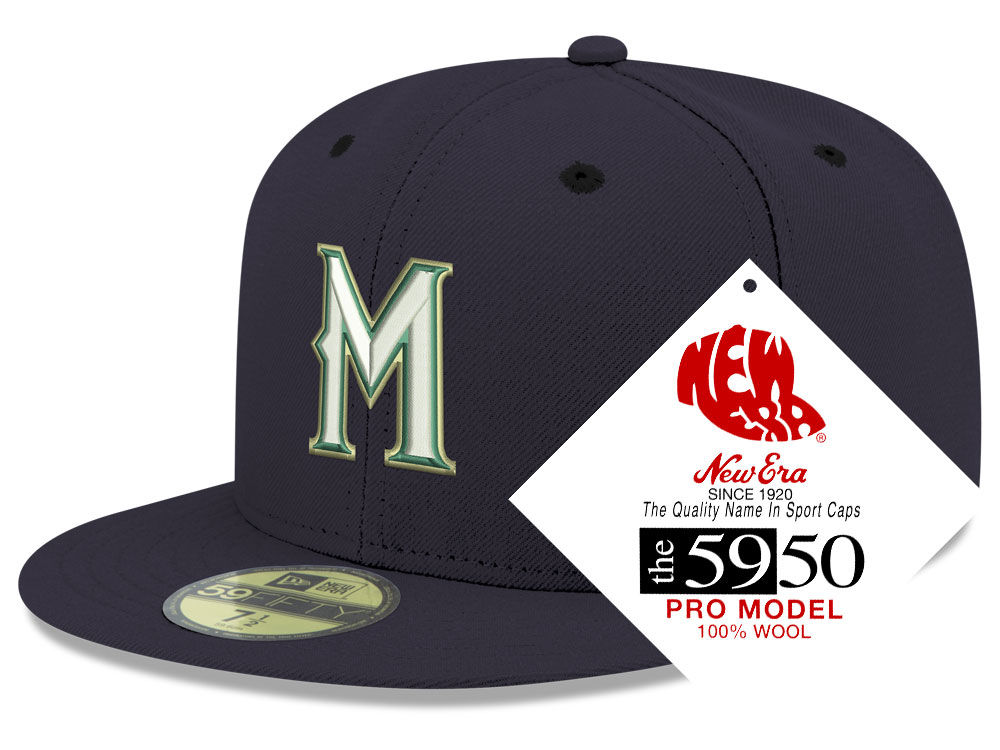 7aa679bba53 Milwaukee Brewers New Era MLB Retro Classic 59FIFTY Cap