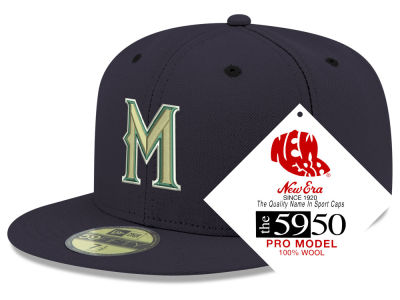 Milwaukee Brewers New Era MLB Retro Classic 59FIFTY Cap