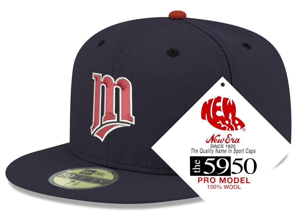 Minnesota Twins New Era MLB Retro Classic 59FIFTY Cap  ffb498caf54b