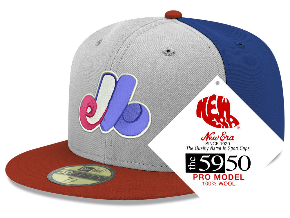 e85b9b0bb6c95 ... caps 289219578 20c0b efa19  coupon code for montreal expos new era mlb  retro classic 59fifty cap 21645 b179c