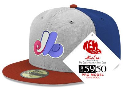 1a1a451c563 Montreal Expos New Era MLB Retro Classic 59FIFTY Cap